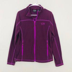 Mountain Hardwear Zip Up Fleece Sweatshirt